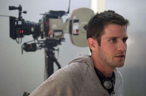 Richard Kelly on set