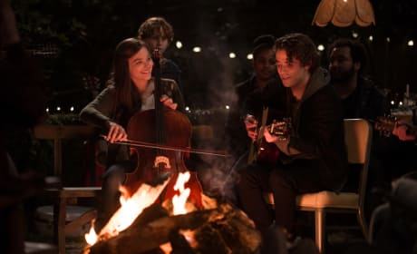 Jamie Blackley Chloe Grace Moretz If I Stay