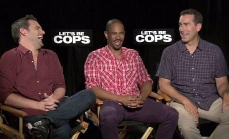 Let's Be Cops Exclusive: Cast Chats Sequel, Let's Be Moms!