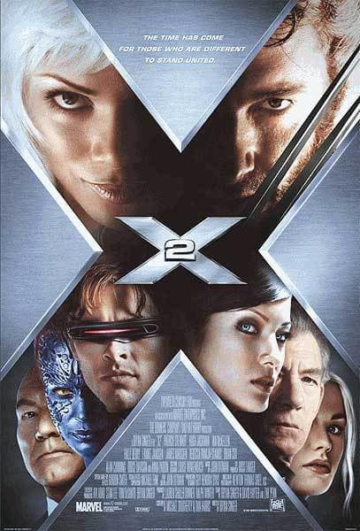 X2 Poster X2 Movie Poster...