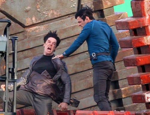 Zachary Quinto in Star Trek 2