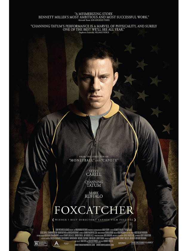 Foxcatcher Channing Tatum Character Poster