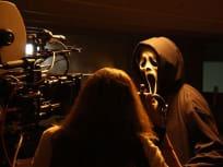 Ghostface on Set!