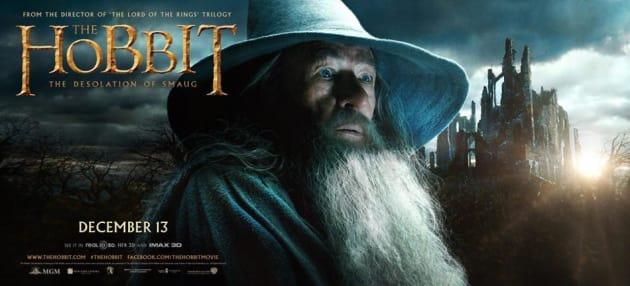The Hobbit: The Desolation of Smaug Gandalf Banner