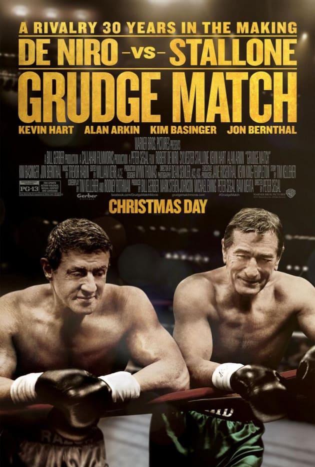 Grudge Match Poster De Niro Stallone