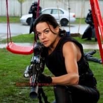 Michelle Rodriguez in Resident Evil: Retribution