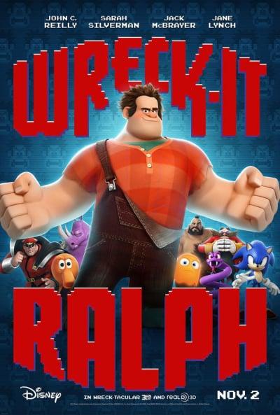 Wreck-It Ralph Poster 3D