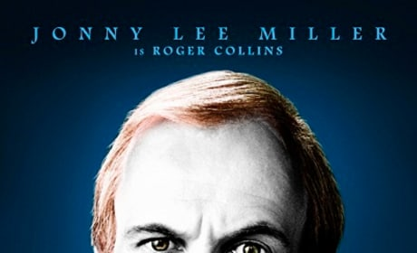 Dark Shadows Jonny Lee Miller Character Poster