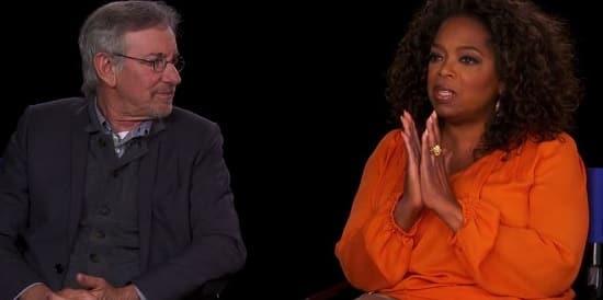 Steven Spielberg Oprah Winfrey Photo