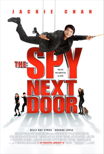 The Spy Next Door Poster