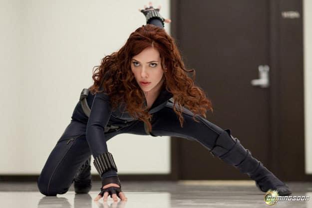 Scarlett Johansson as Black Widow!