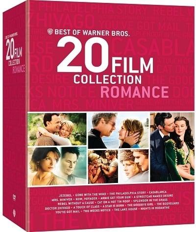 Warner Bros. 20 Best Romance DVD