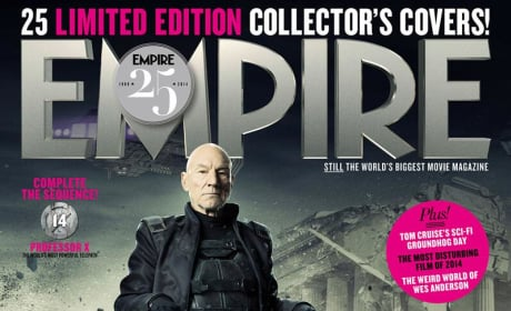 X-Men Days of Future Past Patrick Stewart Empire Cover