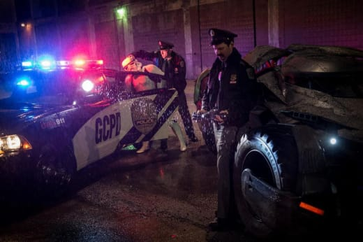 Stormtrooper Stealing Batmobile Photo