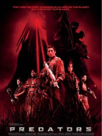 Predators International Poster Red