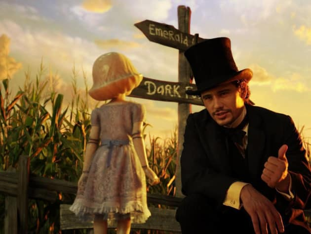 Oz: The Great and Powerful James Franco