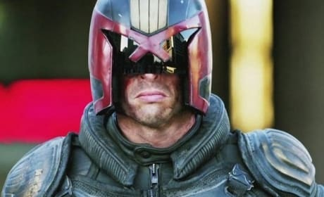Karl Urban is Dredd