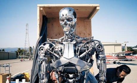 Terminator: Genisys Set Photo
