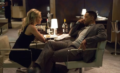 Focus Photo Margot Robbie Will Smith