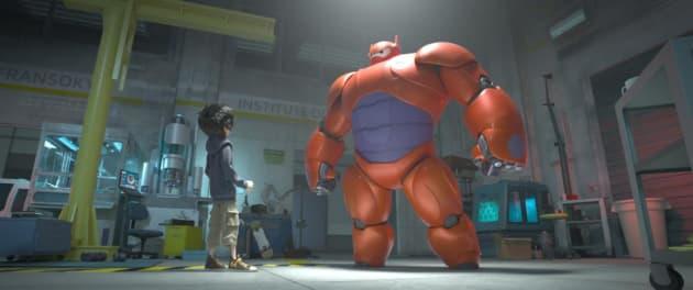 Big Hero 6 Hiro Hamada Robot