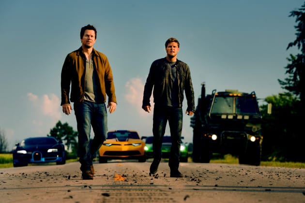 Mark Wahlberg Jack Reynor Transformers: Age of Extinction