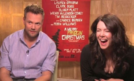 A Merry Friggin' Christmas Exclusive: Joel McHale & Lauren Graham Share Robin Williams Memories