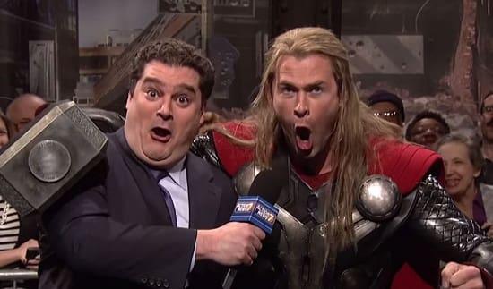 Chris Hemsworth Thor SNL
