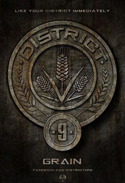The Hunger Games Badges: Grain