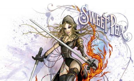 Sucker Punch Sweet Pea Comic-Con Poster