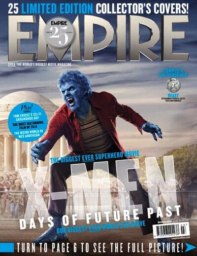 X-men Days of Future Past Beast Empire Cover
