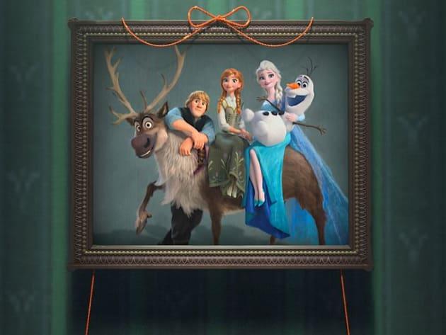 A Frozen Fever Family Portrait