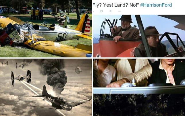 Harrison ford plane crash boba fett