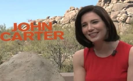John Carter Exclusive: Lynn Collins on Taylor Kitsch, Being Disney Princess