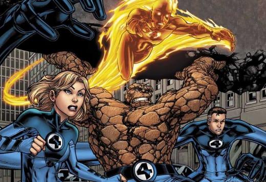 The Fantastic Four Comic