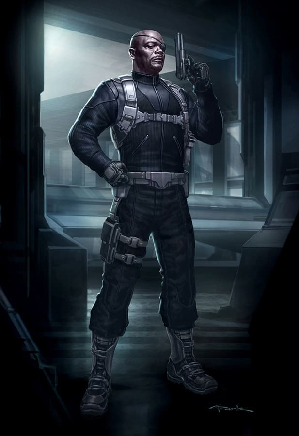 Nick Fury Avengers Concept Art