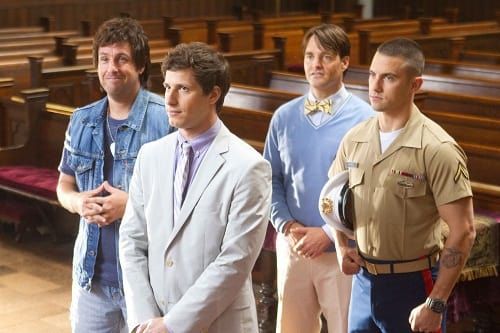 That's My Boy Stars Andy Samberg and Adam Sandler