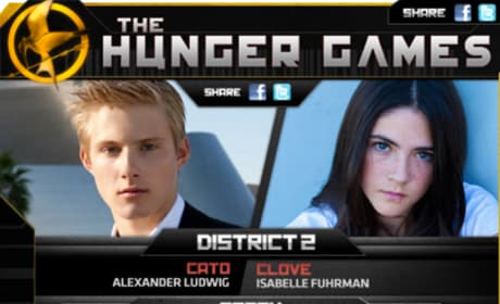 The Hunger Games 24 Tributes