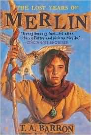 The Lost Years of Merlin Book Cover