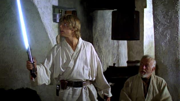 Star Wars: Alec Guinness Mark Hamill
