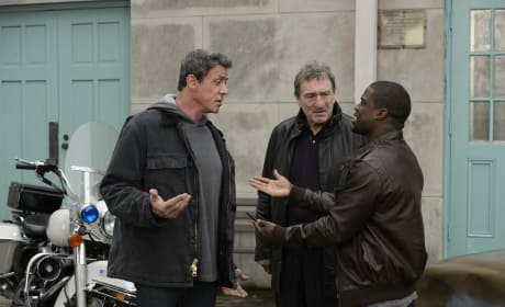 Grudge Match Photo: Sylvester Stallone & Robert De Niro as Boxing Rivals