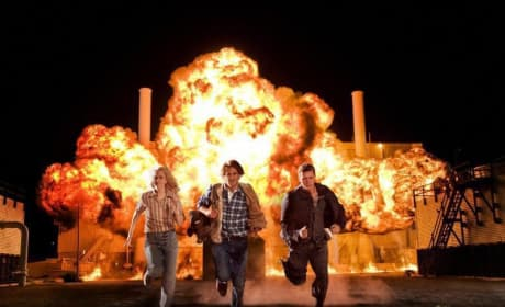 Team MacGruber Explodes onto the Screen!
