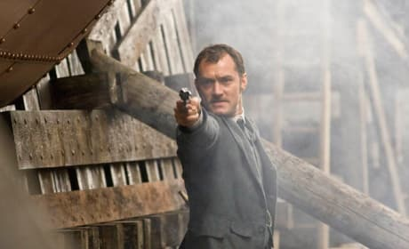 Watson With A Gun