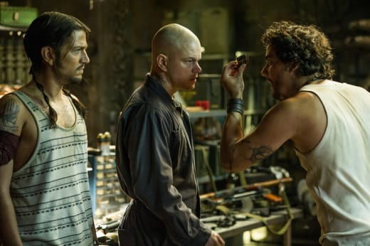 Elysium Matt Damon Diego Luna Wagner Moura