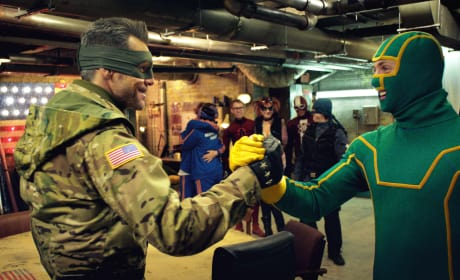 Kick-ass 2 Jim Carrey Aaron Taylor-Johnson