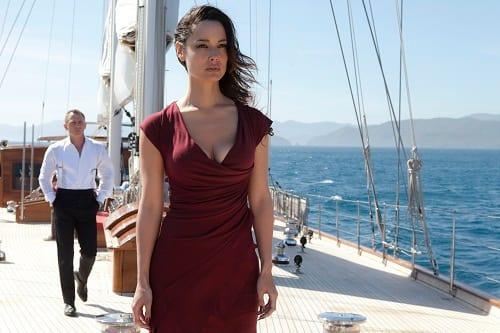 Bérénice Marlohe Daniel Craig Skyfall