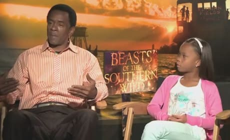 Beasts of the Southern Wild Exclusive: Quvenzhane Wallis & Dwight Henry Interview