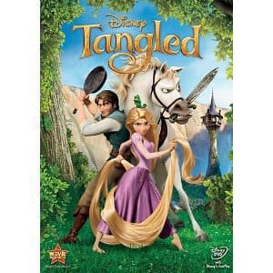 Tangled DVD Cover