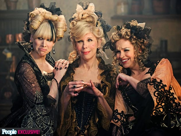 3 Wicked Stepsisters