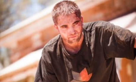 The Rover Stars Robert Pattinson