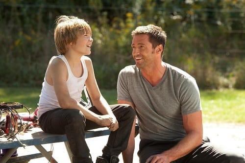 Dakota Goyo and Hugh Jackman Star in Real Steel